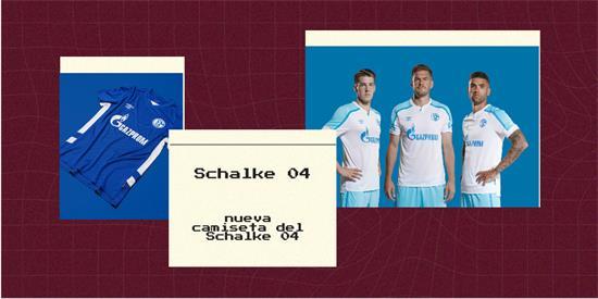Schalke 04 Camiseta | Camiseta Schalke 04 replica 2021 2022
