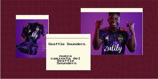 Seattle Sounders | Camiseta Seattle Sounders replica 2021 2022