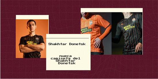 Shakhtar Donetsk   Camiseta Shakhtar Donetsk replica 2021 2022