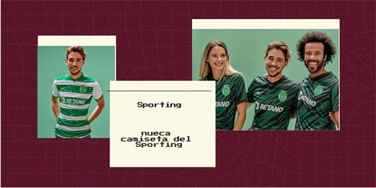 Sporting   Camiseta Sporting replica 2021 2022