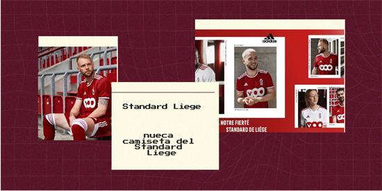 Standard Liege | Camiseta Standard Liege replica 2021 2022