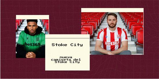 Stoke City Camiseta   Camiseta Stoke City replica 2021 2022