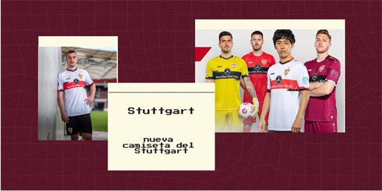 Stuttgart Camiseta | Camiseta Stuttgart replica 2021 2022