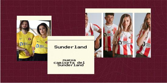 Sunderland Camiseta | Camiseta Sunderland replica 2021 2022