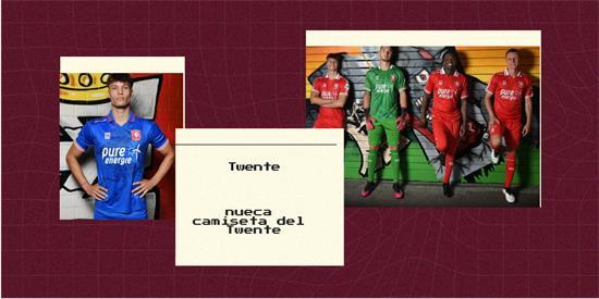 Twente | Camiseta Twente replica 2021 2022