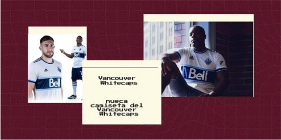 Vancouver Whitecaps   Camiseta Vancouver Whitecaps replica 2021 2022