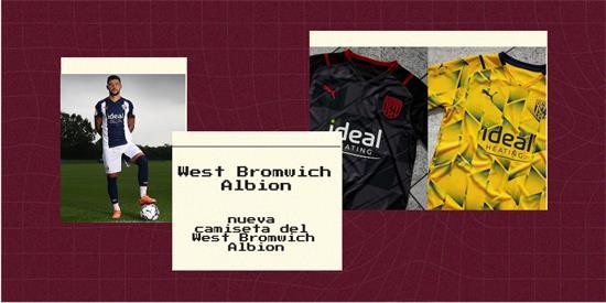 West Bromwich Albion Camiseta | Camiseta West Bromwich Albion replica 2021 2022