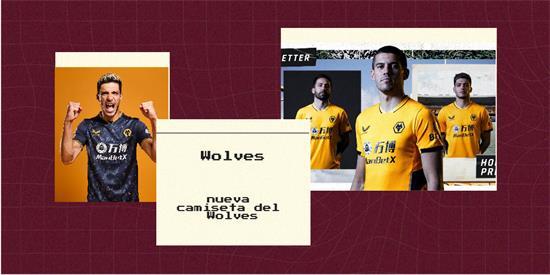 Wolves Camiseta | Camiseta Wolves replica 2021 2022