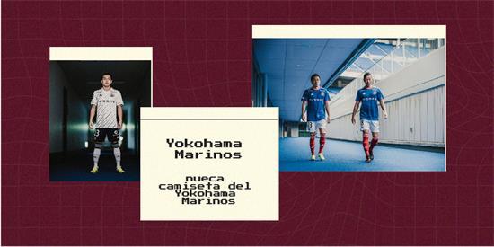 Yokohama Marinos   Camiseta Yokohama Marinos replica 2021 2022